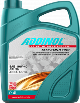Addinol Semi Synth 1040 SAE 10W-40