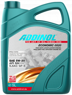 Addinol Economic 0520 SAE 5W-20