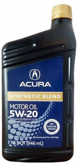 Acura Synthetic Blend 5W-20 SN