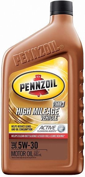 Pennzoil High Mileage Vehicle 5W-30