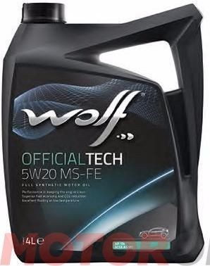 Wolf Official Tech 5W-20 Ms-Fe